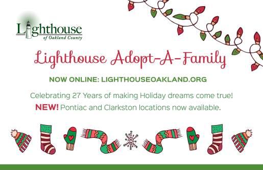 Adopt a Family handout 2017